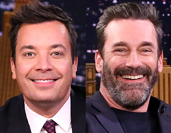 Jimmy Fallon's Daughter Adorably Crashes Jon Hamm's Interview to Discuss Farm Animals