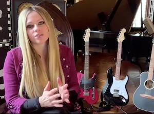 The Call to Unite livestream, Avril Lavigne