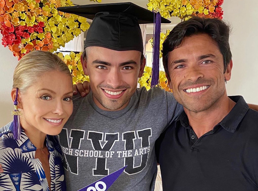kelly ripa, mark consuelos, Michael Consuelos, Instagram