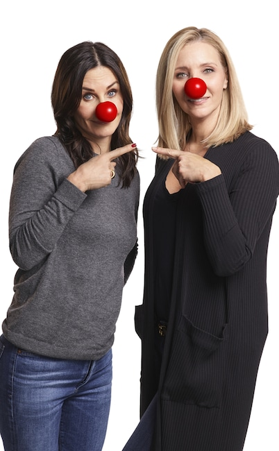Courtney Cox, Lisa Kudrow, Rose Nose Day 2020