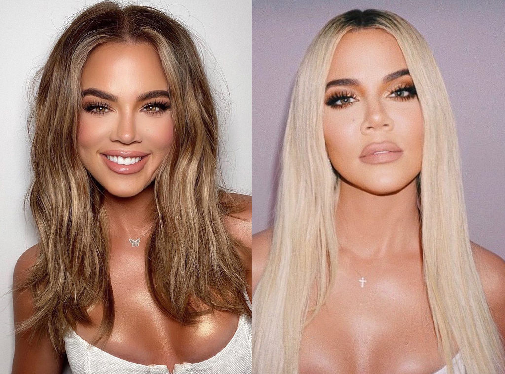 Khloe Kardashian, Hair Transformation
