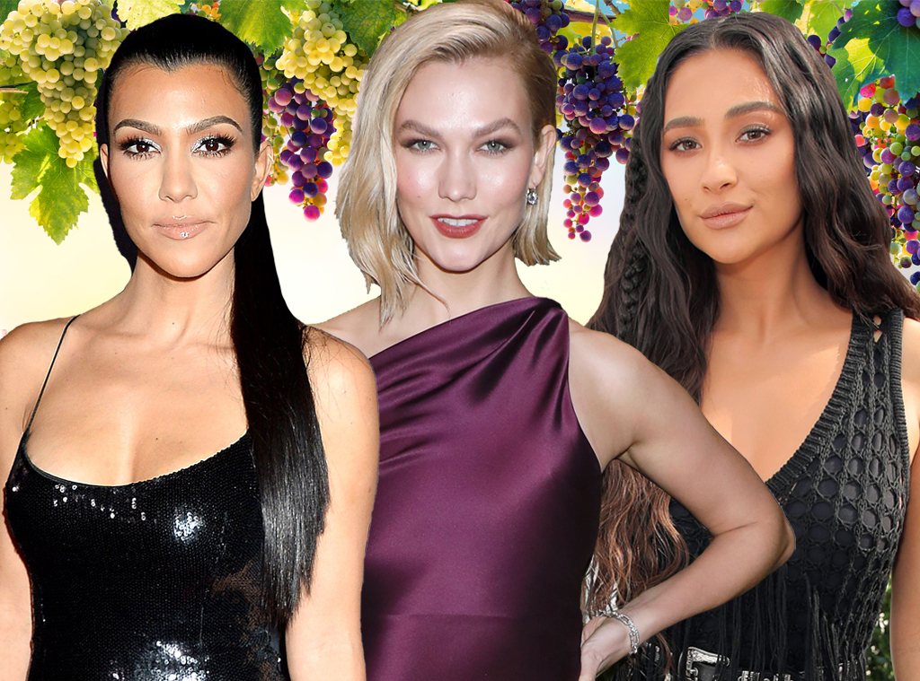 E-Comm: How to Host a Virtual Wine Tasting With Celeb-Favorite Wines, Kourtney Kardashian, Karlie Kloss, Shay Mitchell