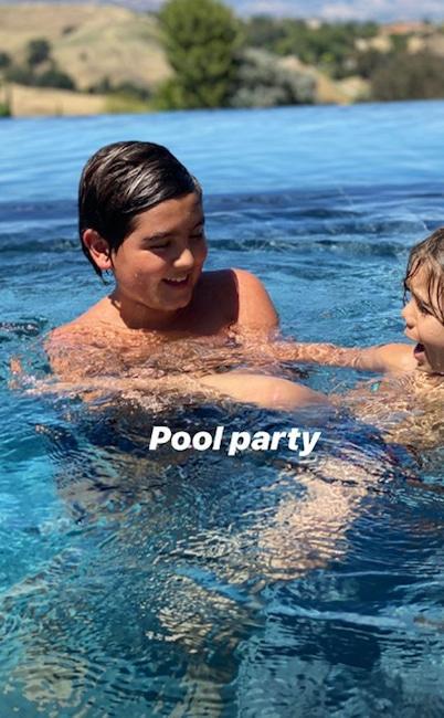 Scott Disick, Kids, Instagram