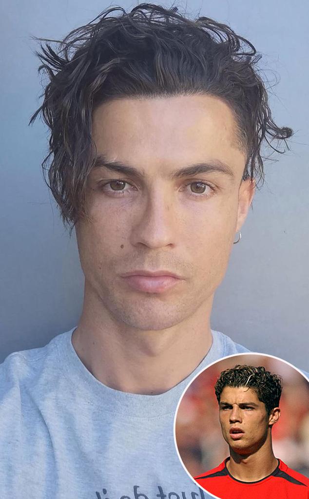 Cristiano Ronaldo, Hair