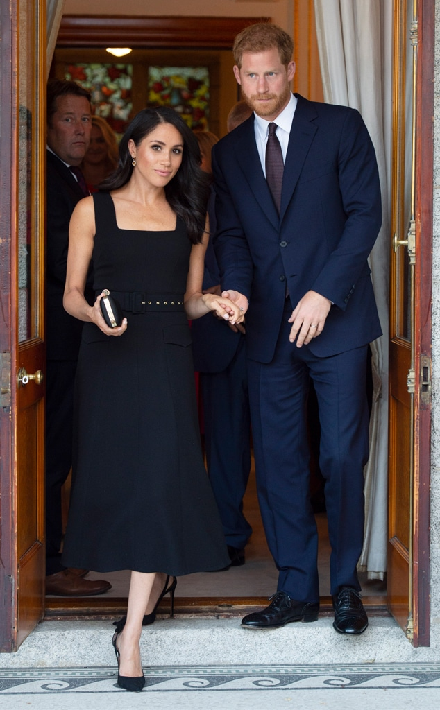 Harry & Meghan Call Police After Drones Fly Over Their LA Home: Report - E!  Online