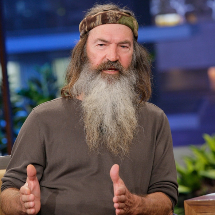 Duck Dynasty S Phil Robertson Just Found Out He Has A Daughter E Online