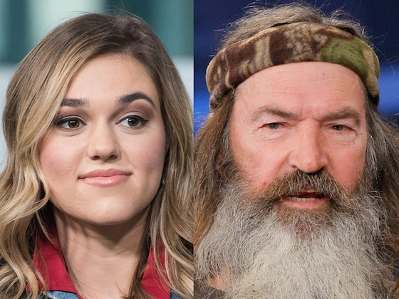 <i>Duck Dynasty</i>'s Sadie Robertson Reacts to News of Grandpa's Daughter From Past Affair