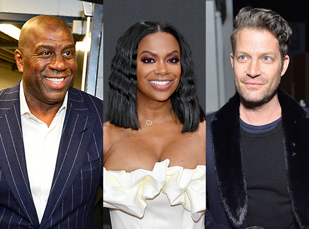 Magic Johnson, Kandi Burruss, Nate Berkus