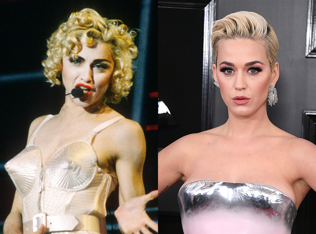Madonna, Katy Perry