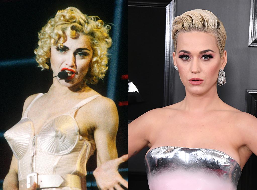 Madonna, Katy Perry