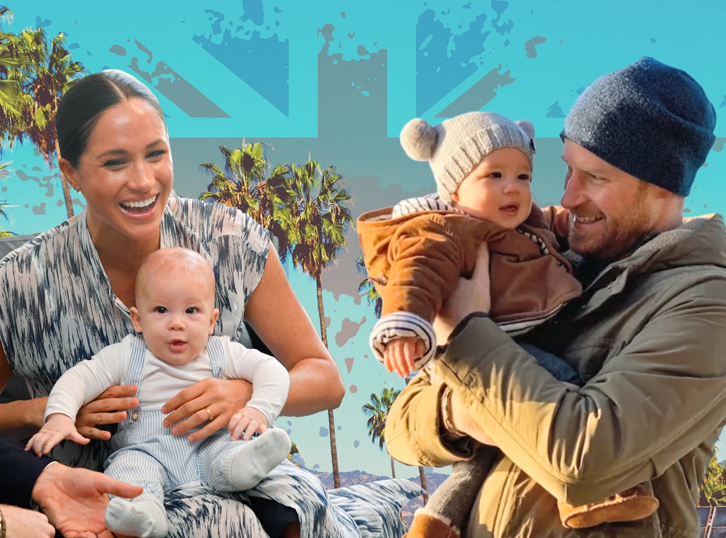 Archie, First Birthday, Prince Harry, Meghan Markle