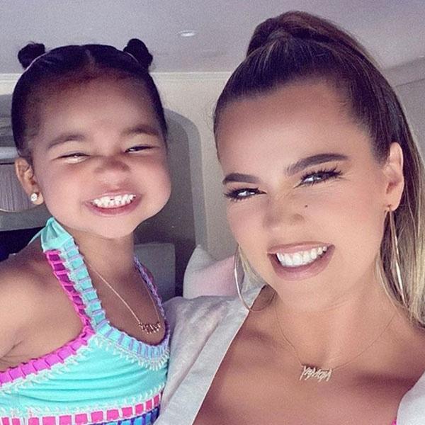 True Thompson, Khloe Kardashian, Instagram