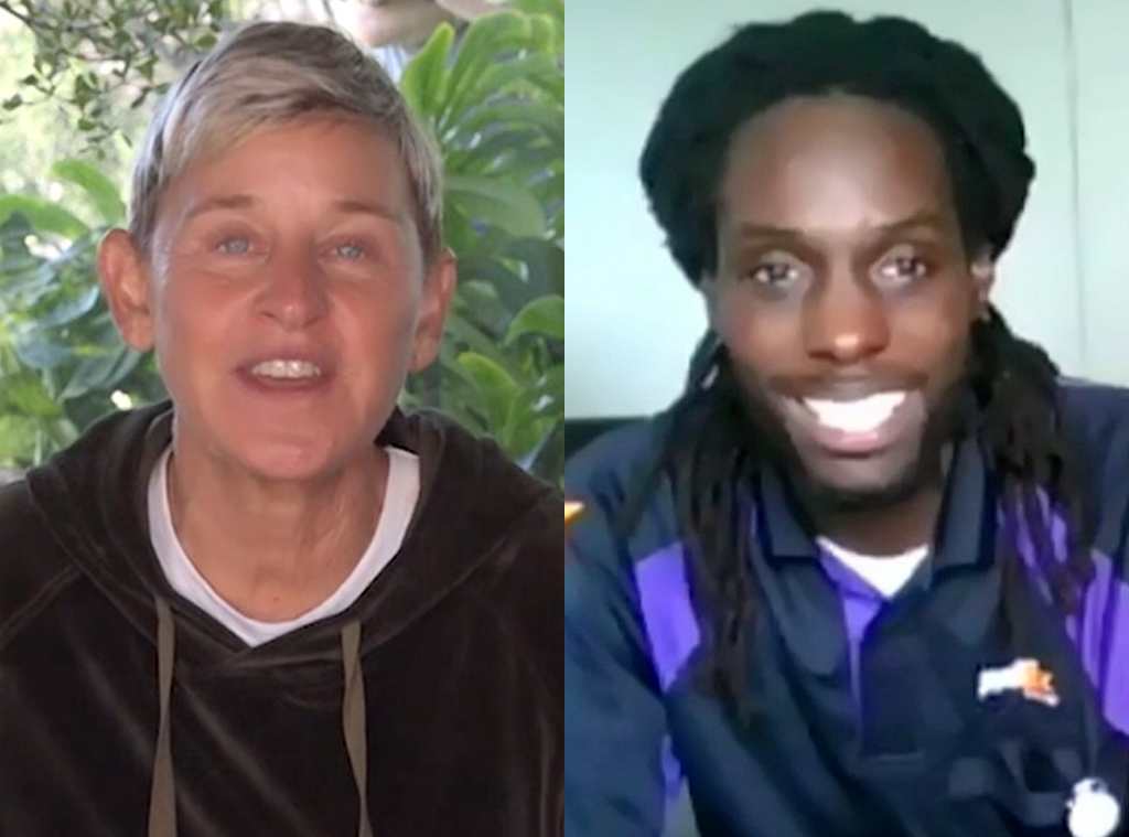 Ellen DeGeneres, FedEx Driver Story