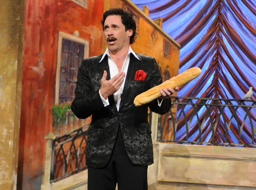 Jon Hamm, Saturday Night Live, Memorable SNL Hosts