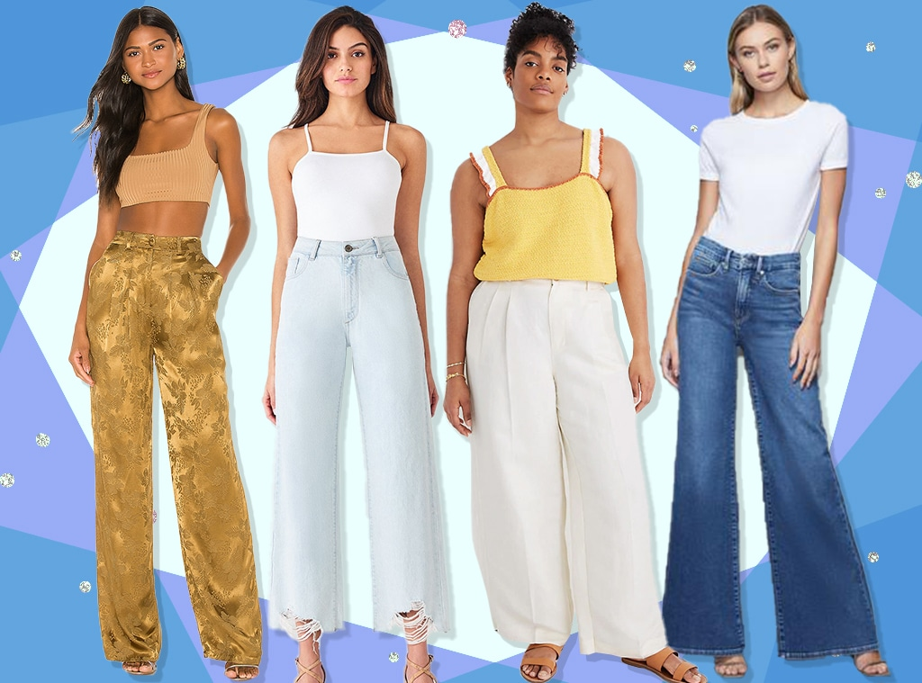 E-comm: Take a Stance in These Wide Leg Pants