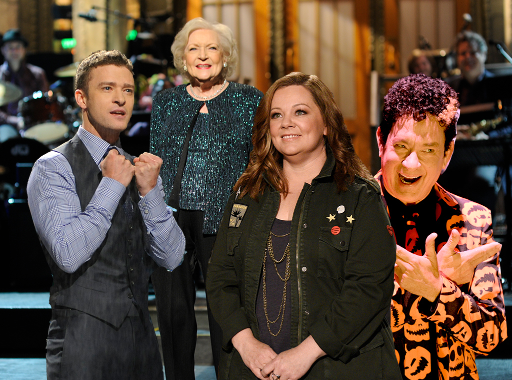 SNL Hosts
