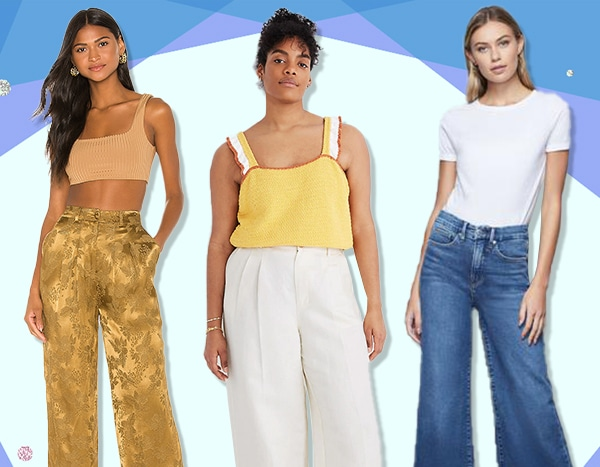Take a Stance in Summer's Wide Leg Pants Trend