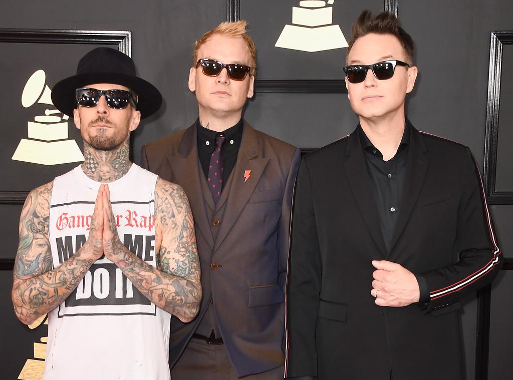 Blink 182, 2017 Grammy Awards