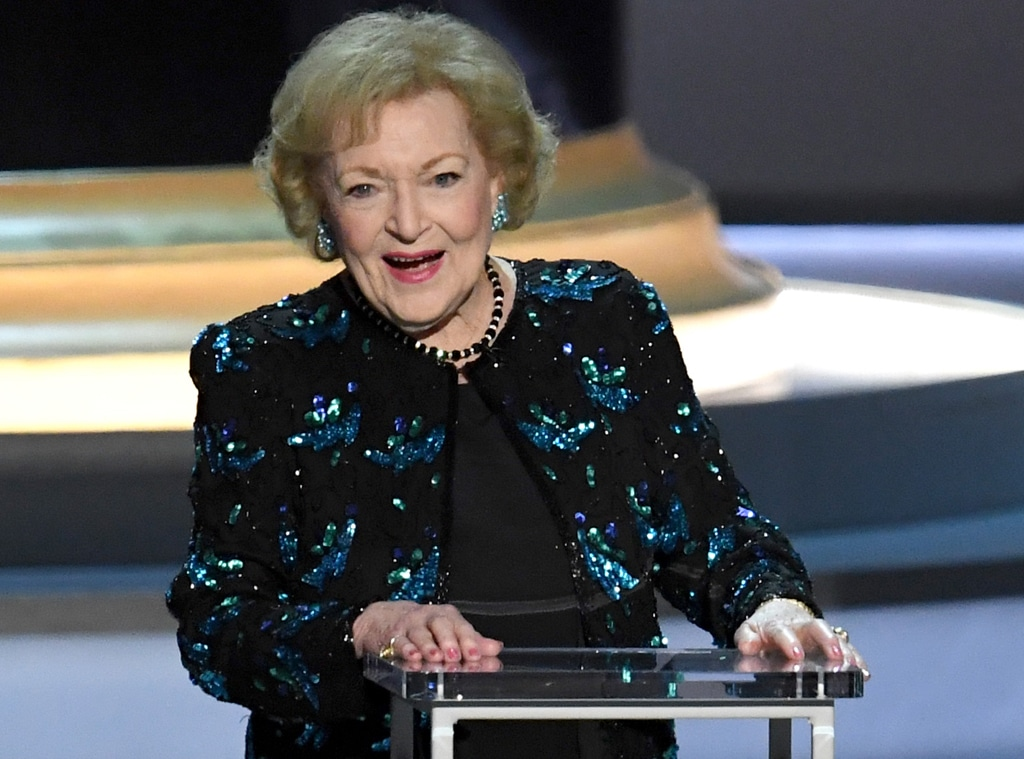 Betty White, 2018 Emmy Awards