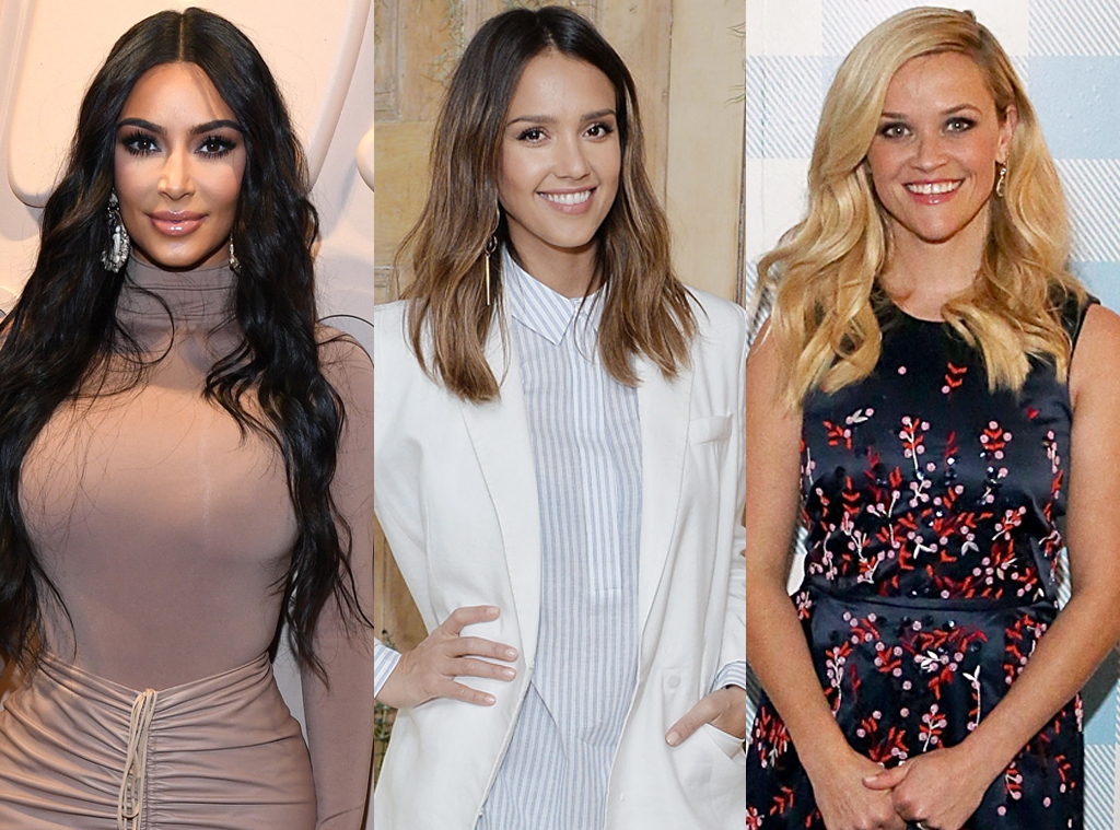 EComm, Celeb Moms With Brands We Love, Kim Kardashian, Jessica Alba, Reese Witherspoon
