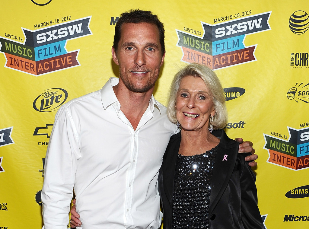Matthew McConaughey, mother Kay McConaughey