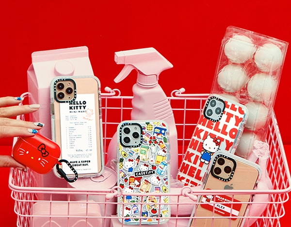 Squeee! Hello Kitty x Casetify's Super Cute Collab Is Here!