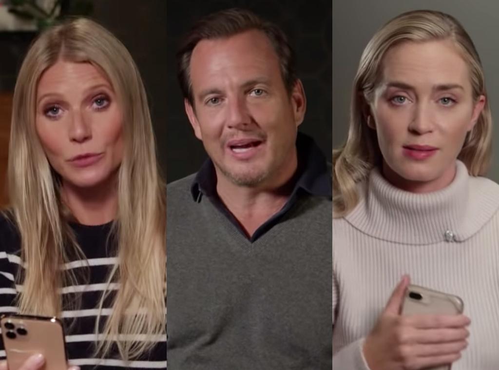 Gwyneth Paltrow, Will Arnett, Emily Blunt