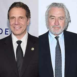 Andrew Cuomo, Robert De Niro