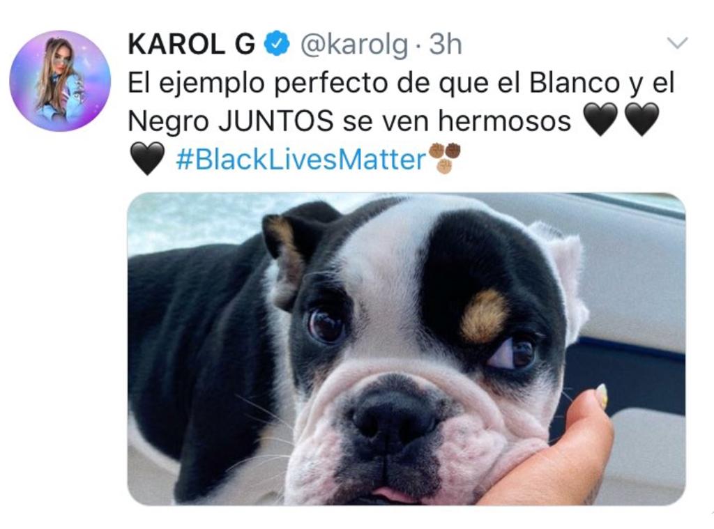 Karol G, Twitter
