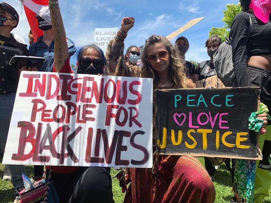 Paris Jackson, Protest