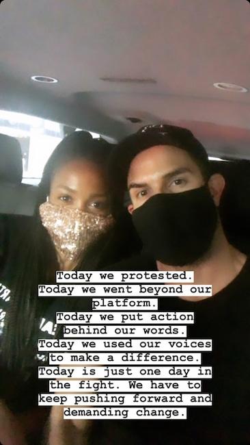 Rachel Lindsay, Instagram, Protest