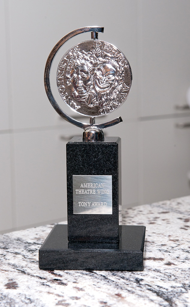 Tony Awards, statue, trophy