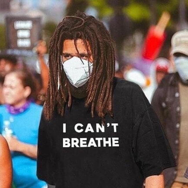 J Cole, protestation