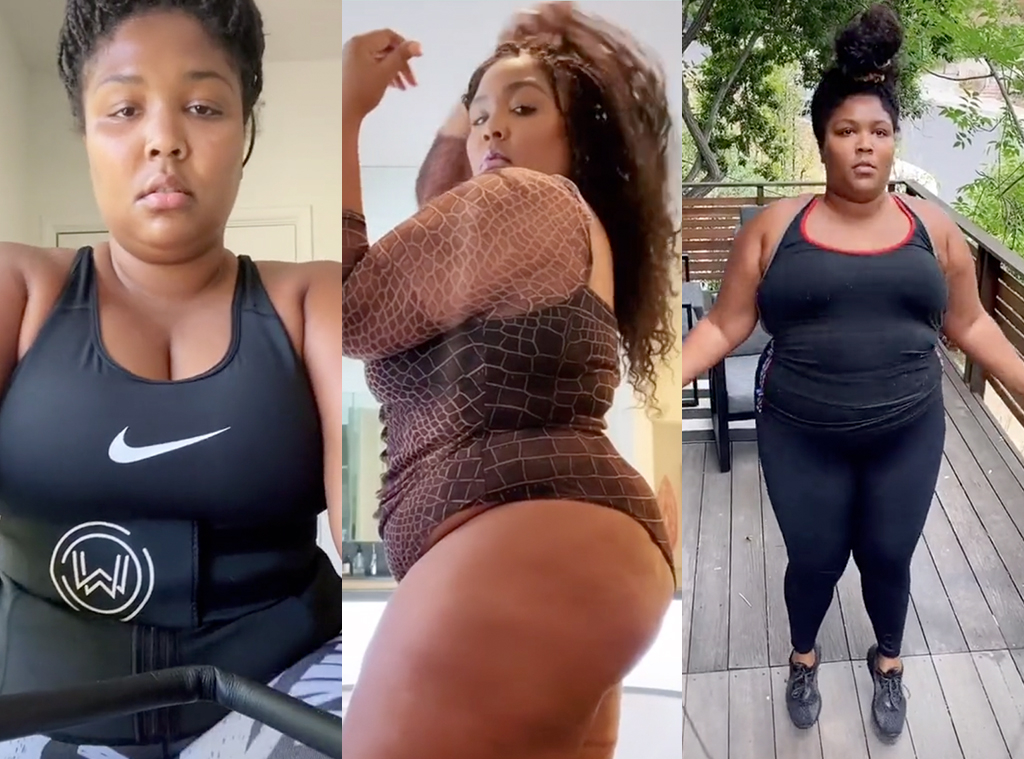 Lizzo, Workout
