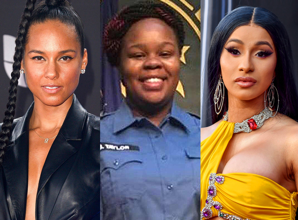 Alicia Keys, Breonna Taylor, Cardi B
