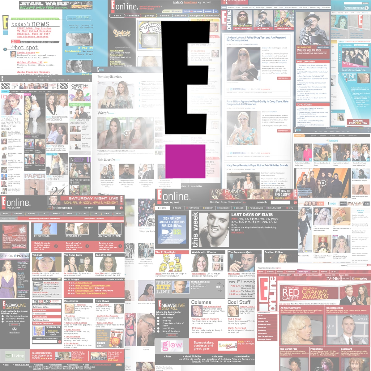 EOnline, Old Designs, Thumbnail