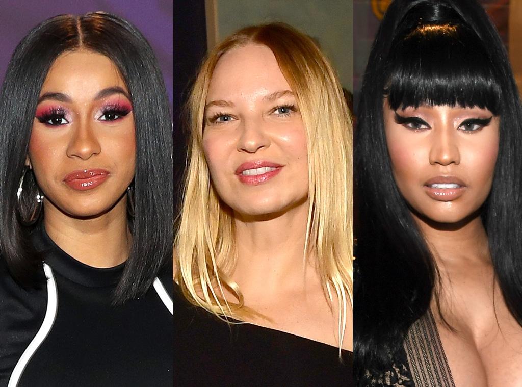 Cardi B, Sia, Nicki Minaj