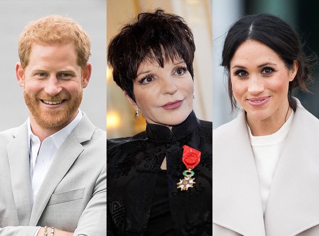 Prince Harry, Liza Minnelli, Meghan Markle