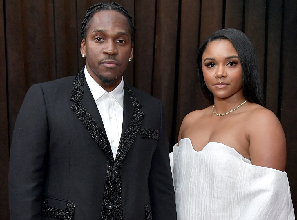 Pusha T, Virginia Williams, 61st Annual GRAMMY Awards
