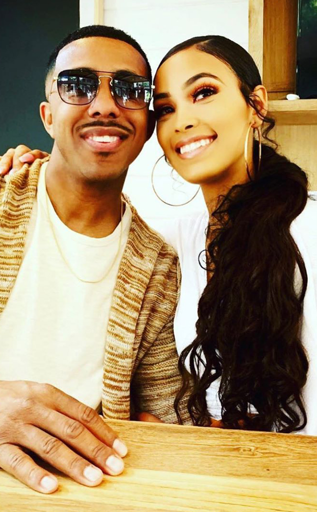 Marques Houston, Miya Dickey, Miya Houston