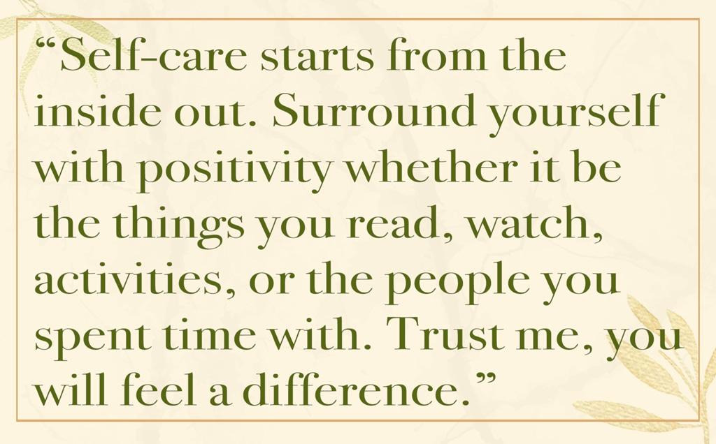 Audrina Patridge: My Self-Care Routine, Wellness Wednesdays, Pull Quote
