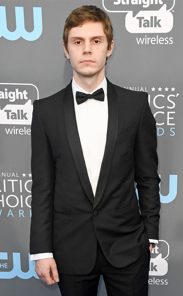Evan Peters, Critics Choice Awards 2018