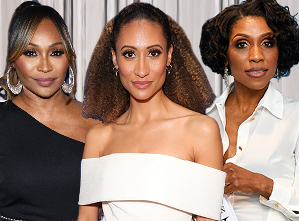 Elaine Welteroth, Cynthia Bailey, Dr. Jackie Walters