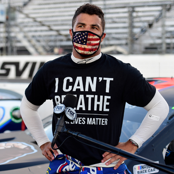 NASCAR's Bubba Wallace Responds to Claims Noose Incident Was a Hoax or Staged 1