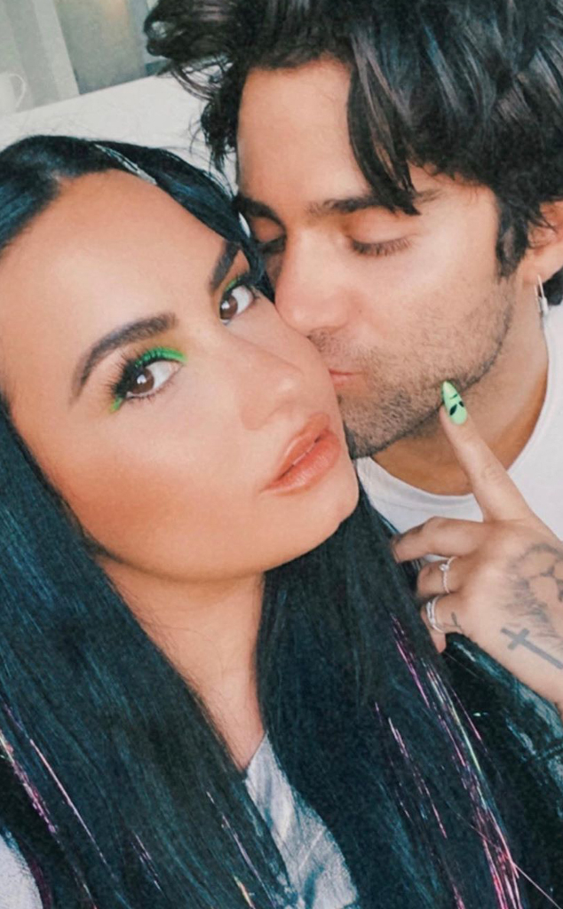 Demi Lovato Is Engaged to Max Ehrich - E! Online