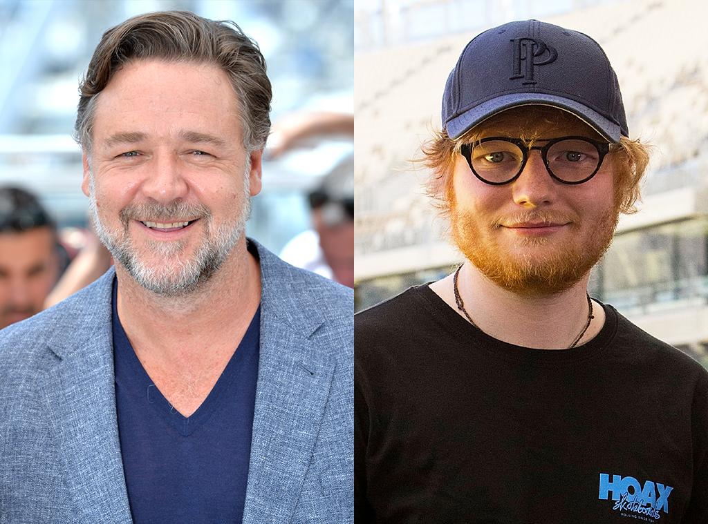 Russell Crowe, Ed Sheeran
