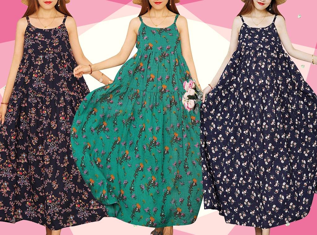 E-Comm: This $25 Breezy Boho Maxi Dress Has 458 5-Star Amazon Reviews