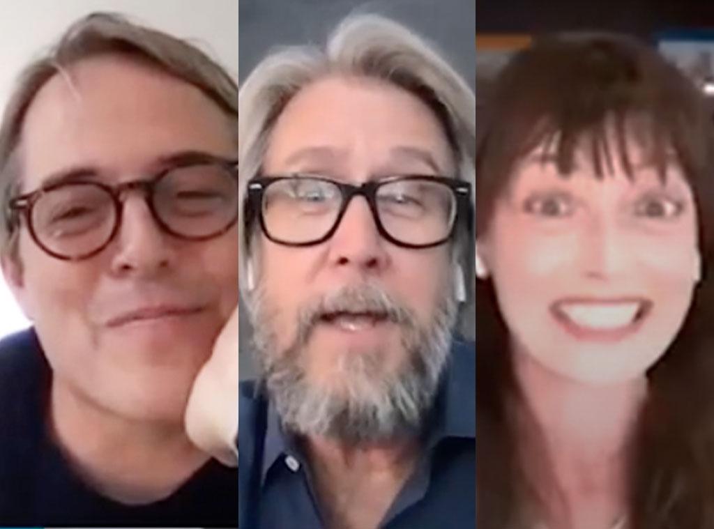Matthew Broderick, Alan Ruck, Mia Sara, Ferris Bueller's Day Off, Josh Gad