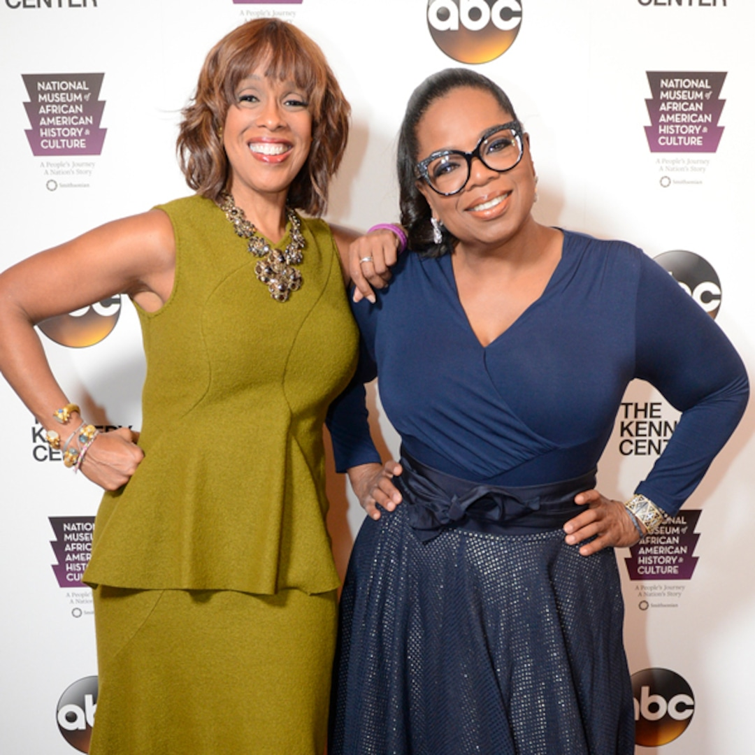 Oprah Winfrey and Gayle King Reunite for the First Time in 3 Months But Still Practice Social Distancing