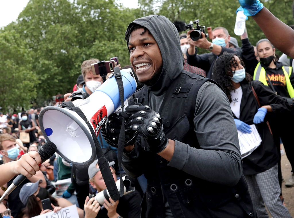 John Boyega, protest